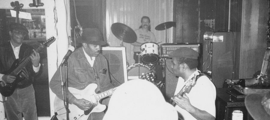 Hubert Sumlin, Louis Myers, Jimi Schutte, Dave Myers
